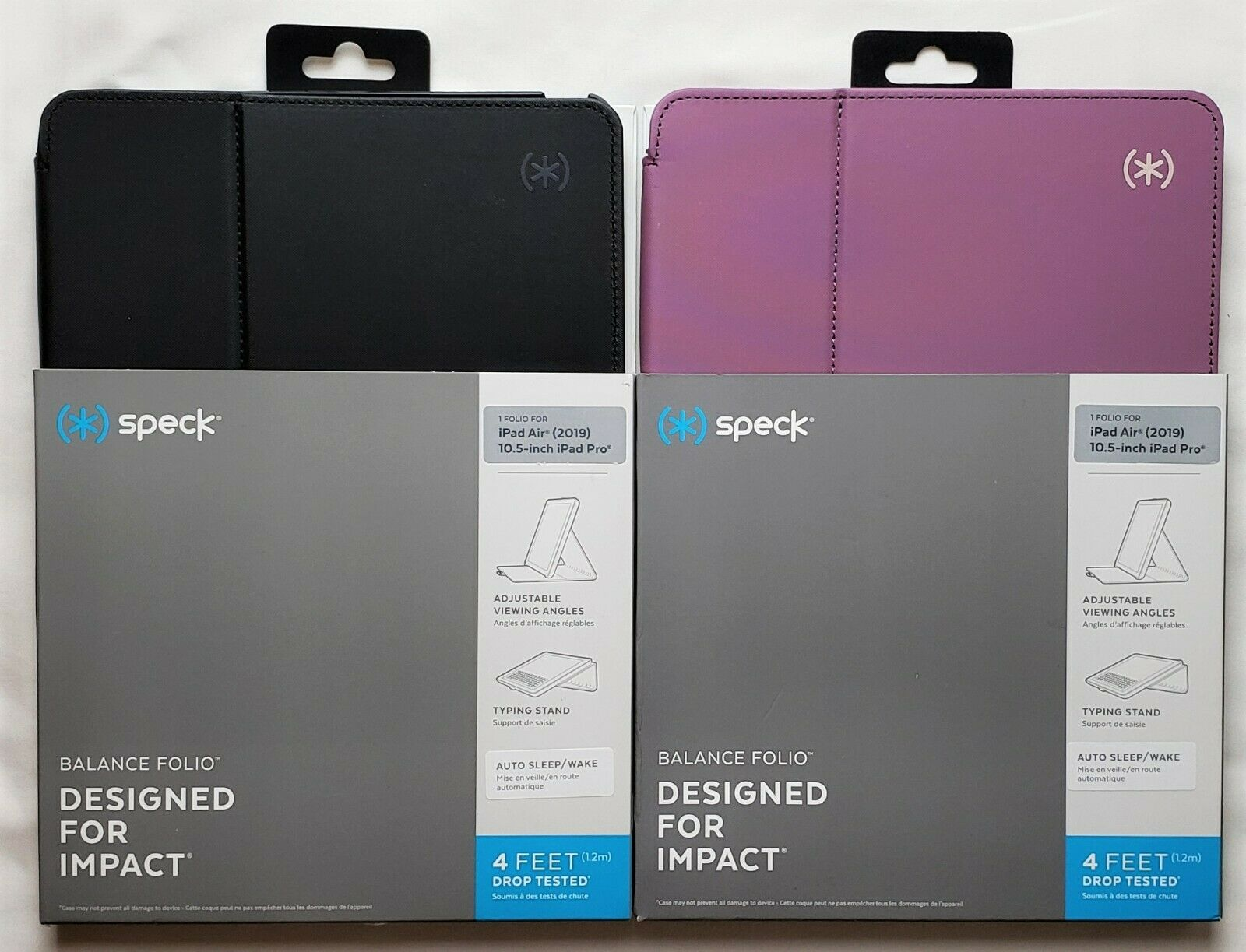 SPECK Balance Folio Case Cover for iPad Air 2019 Model & iPa