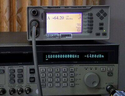 Gigatronics 80701a Power Sensor - 18ghz Tested - Excellent - Giga-tronics