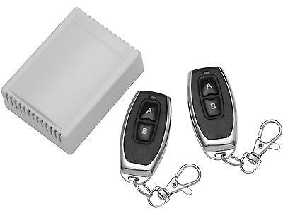 Universal-sender (Universal Garagentor Tor Fernbedienung Komplett-Set Handsender Garage Garagen)