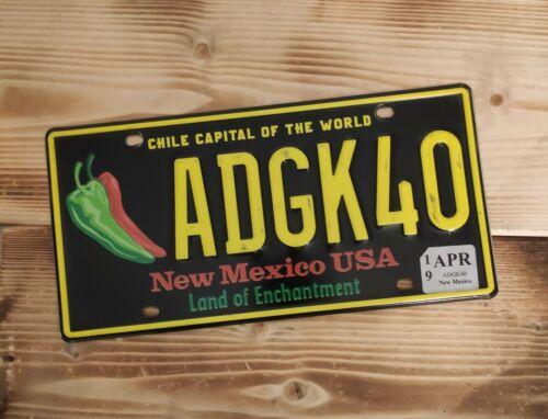 USA Nummernschild/Kennzeichen/license plate/US car/Harley/ * New Mexico *
