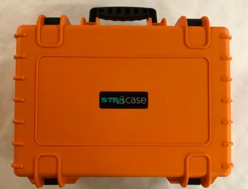 """STR8 17"""" Carrying Case for Multi-Purpose with Pluck Foam - (Tangie Orange)"""