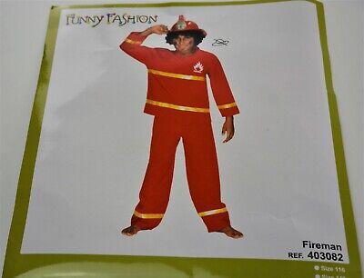 Funny Fashion Kostüm Feuerwehrmann  Halloween - Funny Kostüm Feuerwehrmann
