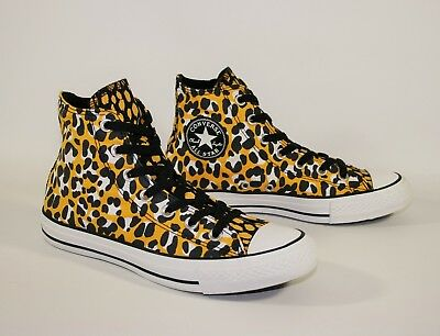 LLOW LEOPARD High Top Trainers Boots Sneakers UK SIZE 3 (Kinder Converse Leopard)