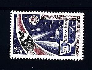 GABON - 1970 - Giornata internazionale delle Telecomunicazioni - Brescia 25124, Italia - L'oggetto può essere restituito - Brescia 25124, Italia