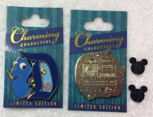 Dory Charming Characters Pin LE 3000 Charms Inside Disneyland 2017 Finding Nemo