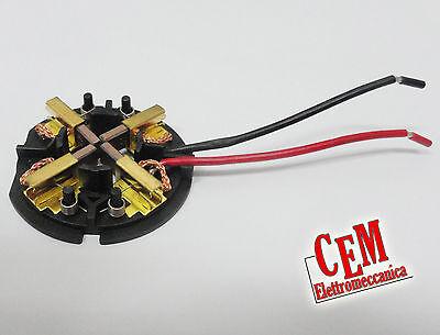 Carboncini con porta spazzole per C18, HD18 Milwaukee 18 Volt spazzola originale