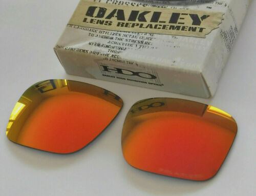New Oakley Holbrook Sunglasses Polarized Ruby Iridium Replacement lens