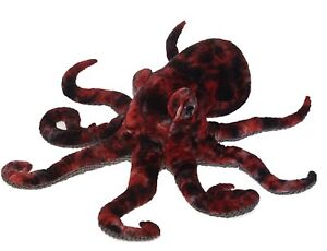 Fiesta Toys Red Octopus Plush Stuffed Animal Toy - 16 Inches