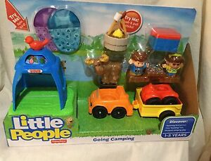 FISHER PRICE LITTLE PEOPLE GOING CAMPING - NEW Blackburn Whitehorse Area Preview
