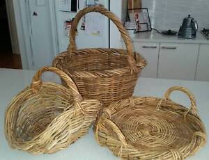 Cane baskets Queens Park Canning Area Preview