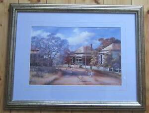 Print by D'Arcy W. Doyle in mint condition with nice frame Prospect Prospect Area Preview