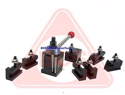 Bostar Bxa Wedge Tool Post 250-222 Lathe10-15 2 Extra Tool Holders