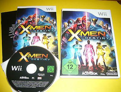 Nintendo Wii Spiel: X-MEN DESTINY / sehr guter Zustand / OVP / Spielanl gebraucht kaufen  Berlin