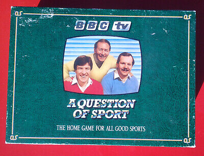 Vintage A Question of Sport Board Game BBC TV 1986 for sale  Shipping to Nigeria
