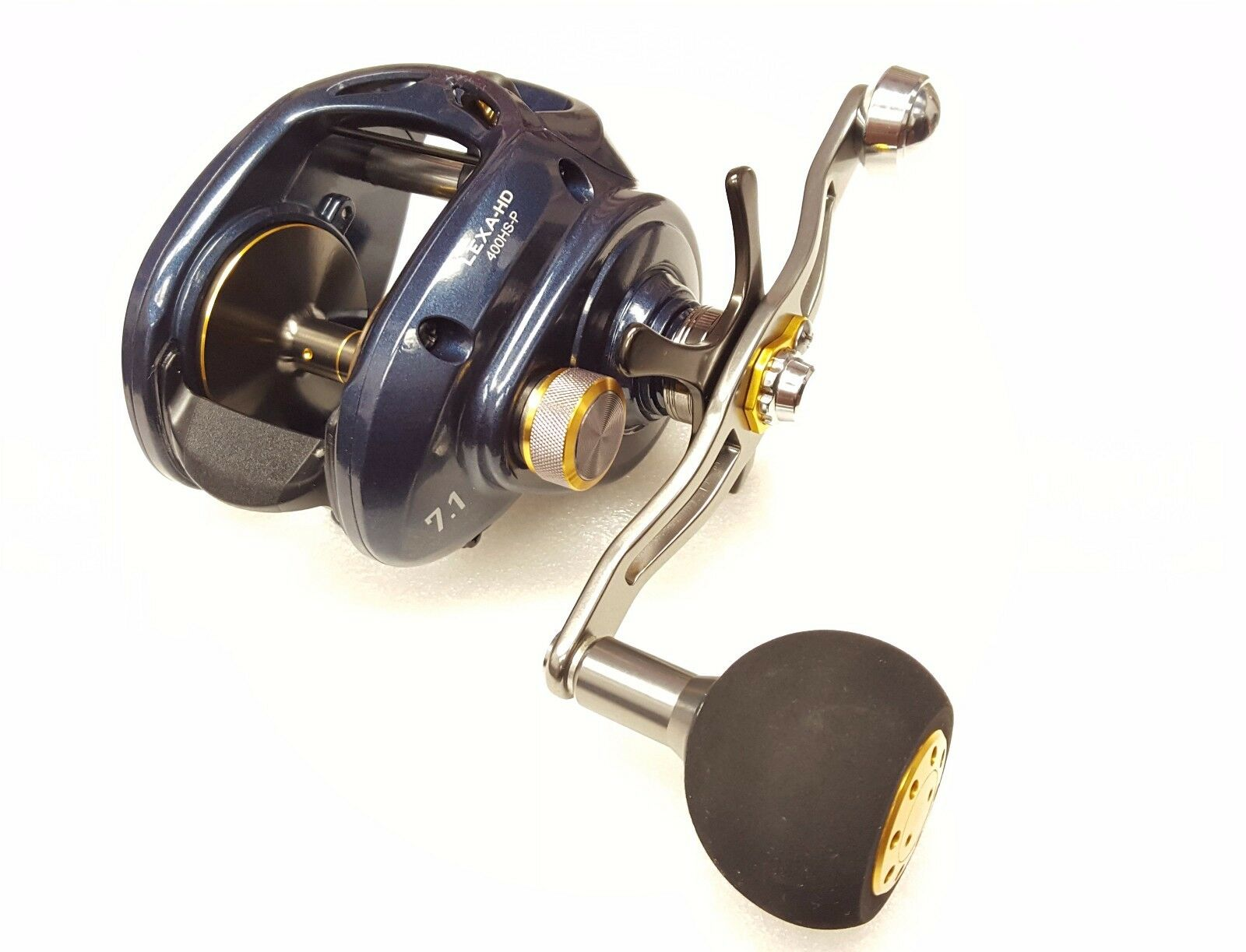 977b6eced58 Daiwa Lexa HD 400 High Speed Right Hand Power Baitcast Reel 7.1:1 LEXA-