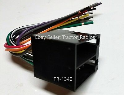 Semi Truck Stereo Wiring Harness Radio Cd Player In Dash Freightliner Plug Play