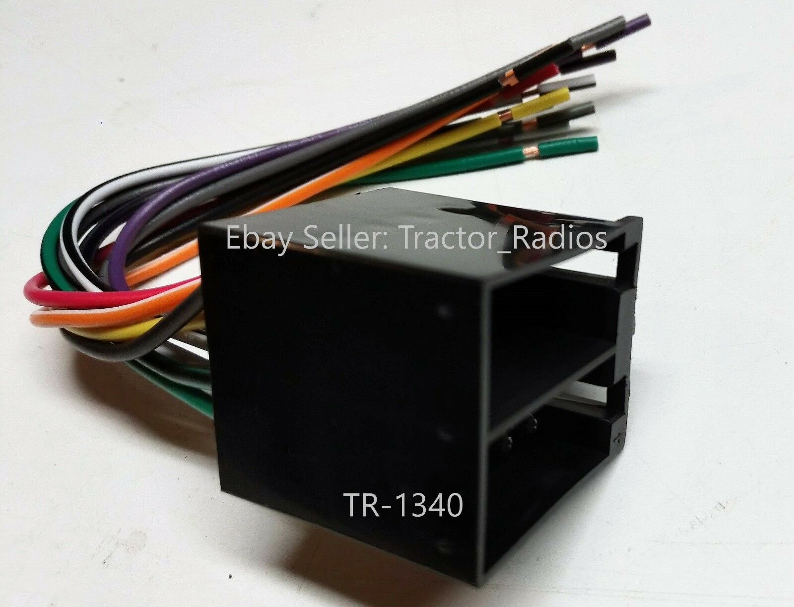 semi truck stereo wiring harness radio cd
