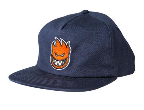 SPITFIRE BIGHEAD FILL SKATE HAT, Adjustable Snapback, Blue with Red Logo, *NEW*