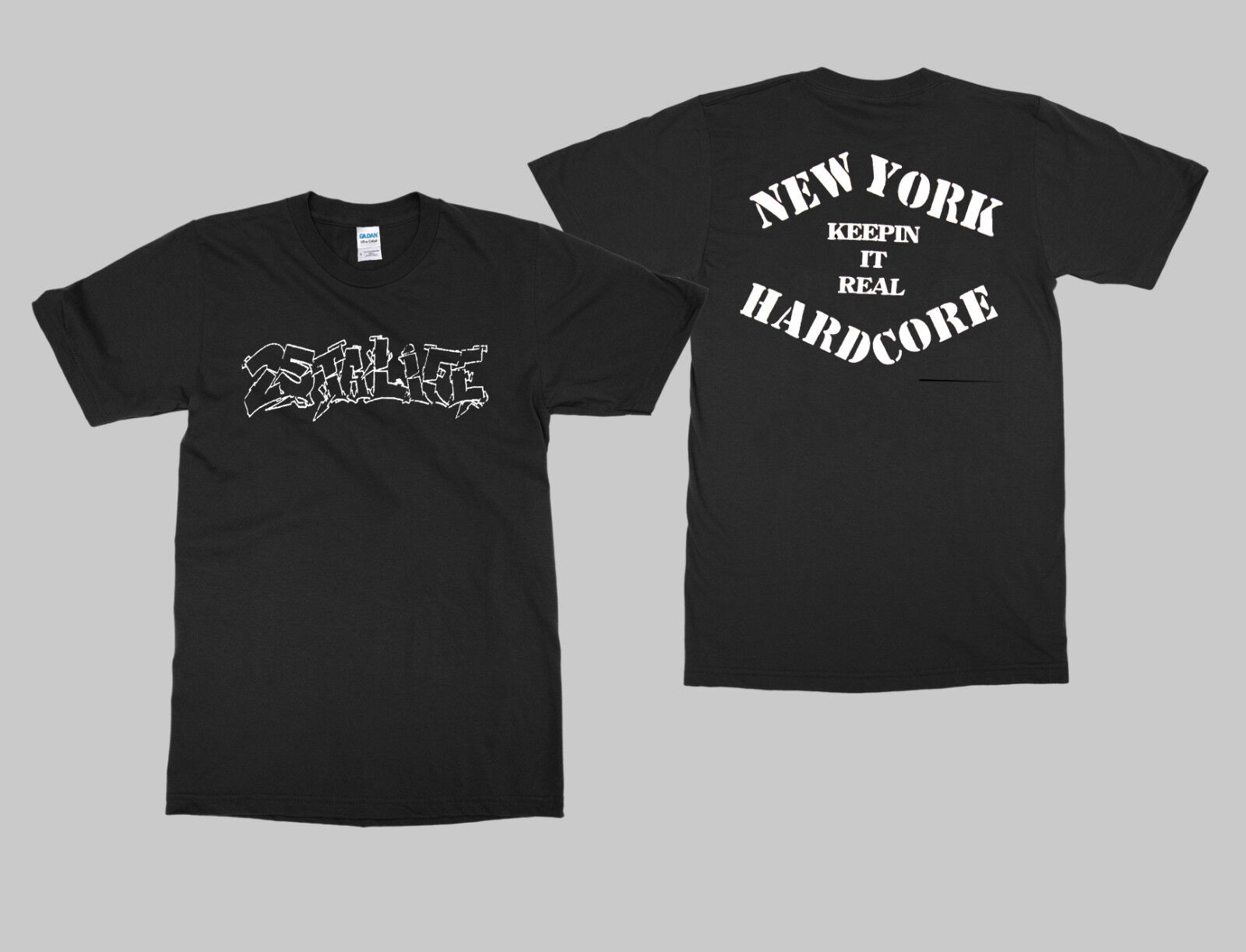25 TA LIFE T shirt NEW YORK HARDCORE KEEPIN IT SHIRT NYHC MADBALL