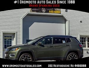 2018 Jeep Compass Limited Navigation, Sunroof, Remote Start,...