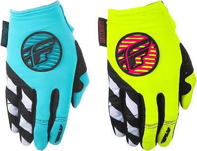 Kinetic Race Gloves - Fly Racing Womens Kinetic Gloves 2018 - MX Motocross Dirt Bike Off Road ATV Gear
