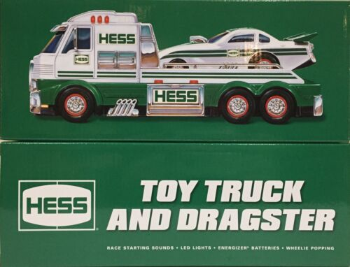 2016 HESS Toy Truck & Dragster Funny Car *NEW IN BOX*