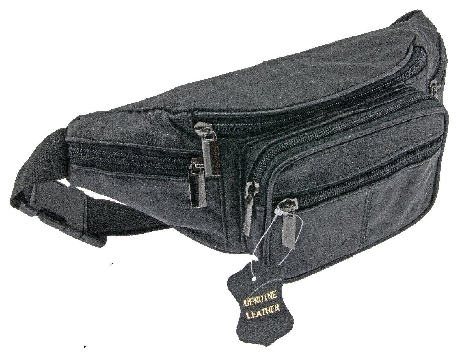 Gürteltasche Hüfttasche Bauchtasche Umhängetasche Crossbag - Echt Leder! LK568
