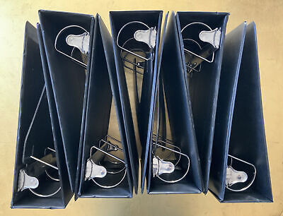 7 Seven 3 Ring 3 Inch D Style Binders See Photos