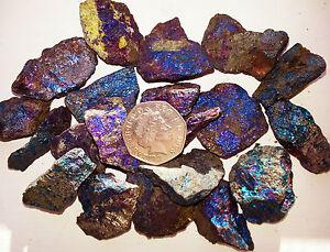 25 gms Peacock Ore Bornite Chalcopyrite Crystal Norwegian Rough Mineral Specimen