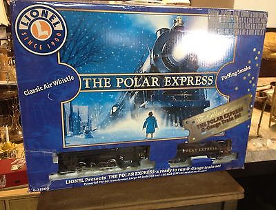 LIONEL THE POLAR EXPRESS O GAUGE TRAIN SET FREE SHIPPING on Rummage