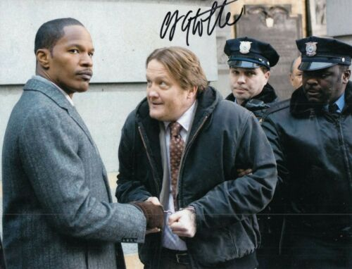 CHRISTIAN STOLTE signed (LAW ABIDING CITIZEN) 8X10 *Clarence Darby* W/COA #2