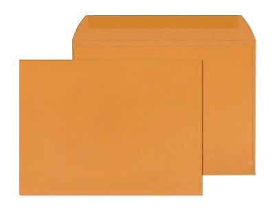 9x12 Booklet Envelopes Blank 28lb-open Side Color Brown Kraft-500box