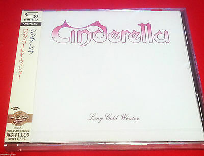 CINDERELLA - LONG COLD WINTER - JAPAN JEWEL CASE SHM CD - FACTORY SEALED
