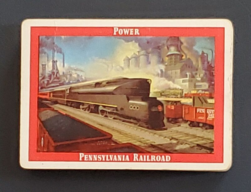 Pennsylvania Railroad Playing cards 1944   POWER   single opened deck