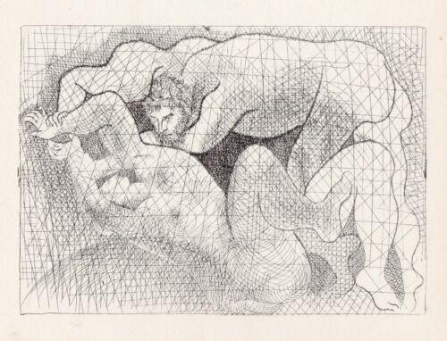 Pablo Picasso, The Rape (Le Viol), Vollard Suite