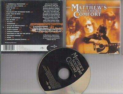 MATTHEW'S SOUTHERN COMFORT Essential  Collection CD ft Woodstock Iain Matthews ()