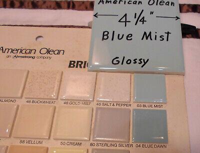 "9 Ceramic Tiles...Glossy Scored...Salt /& Pepper…by American Olean...4-1//4/"" NOS"