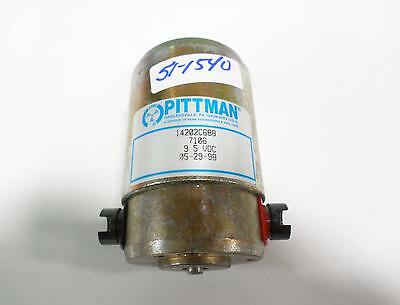 Pittman Dc Motor 14202c688 Jch