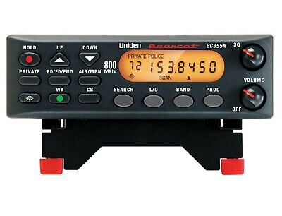 Mobile Base Scanner CB Radio Receiver Police Fire Emergency 300 Channel New (Best Mobile Police Scanner)