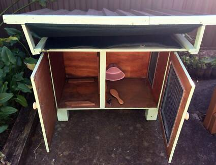 Handmade Outdoor Rabbit Hutch! Hurstville Hurstville Area Preview