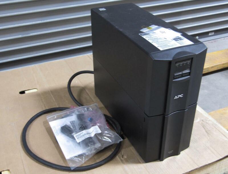 New - Open Box APC SMT3000 Battery Backup | Output Watts 2700W