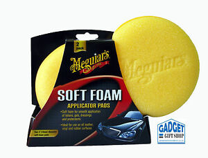 MEGUIARS SOFT FOAM APPLICATOR PADS - TWIN PACK X3070