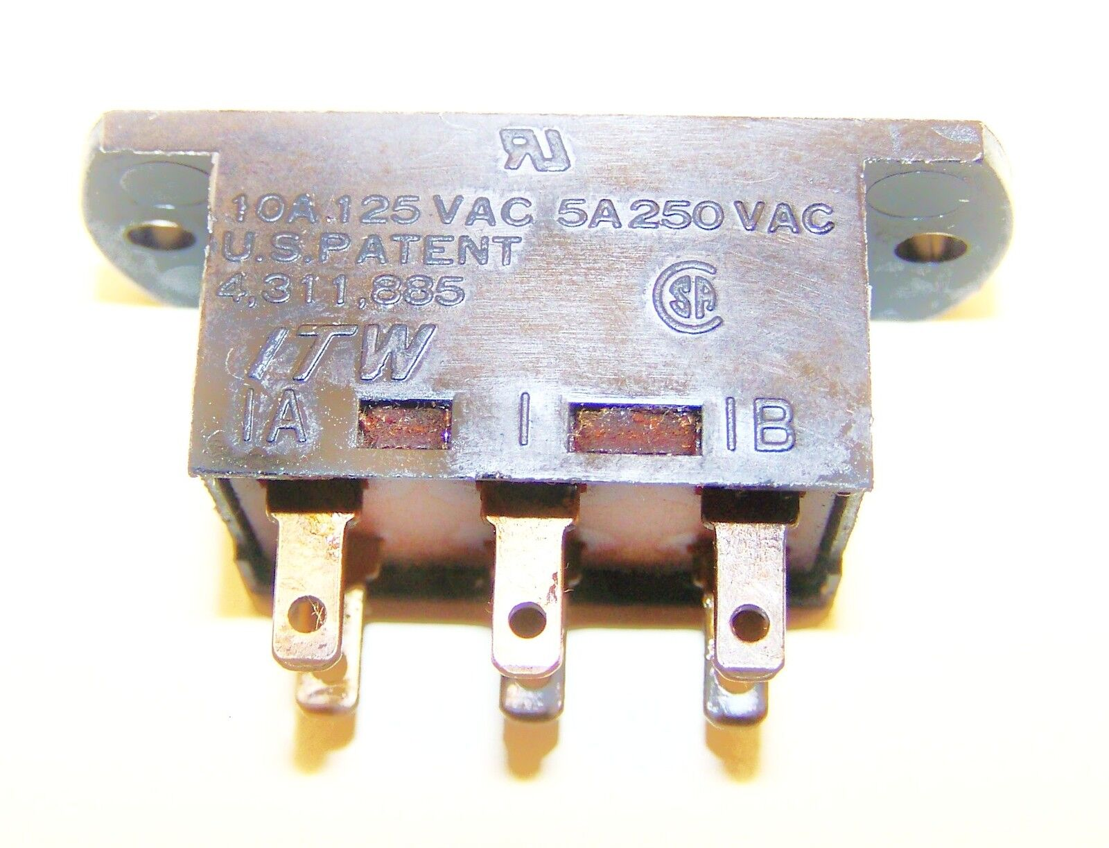 50pcs 2.7 x 6.7mm Micro Slide Switch SMD Toggle Switch On//Off 7 Pin 2.5mm handle
