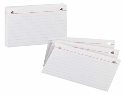 Oxford Index Cards 3 X 5 Blank White 100 Count- 50 Per Pack Ess07351 ...