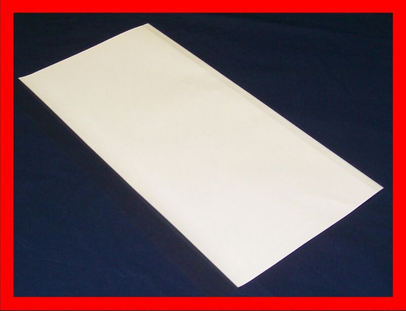 """5 - 14"""" x 28"""" Brodart Just-a-Fold III Archival Book Covers -- super clear mylar"""