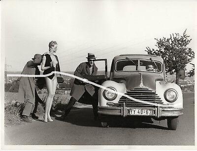 24x18 Original Foto 1970 DDR Comedy Film BMW 326 EMW 340 v 1951 Oldtimer photo