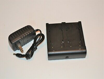 Trimble Dual 54344 Battery Charger 5700 5800 R8 R7 Tsc1 Gps Gnss Bc-30d 92600