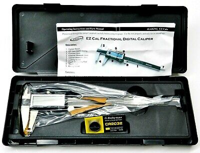 8 Igaging Caliper Digital Electronic Precision Read 3 Way Lcd Large Ez Cal Ip54