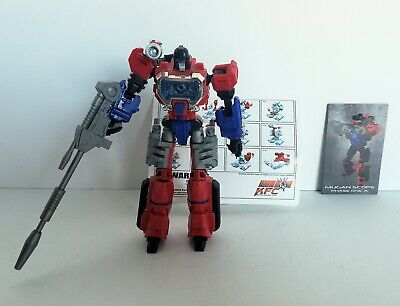 Transformers KFC E.A.V.I. Metal MUGAN SCOPE Phase One A