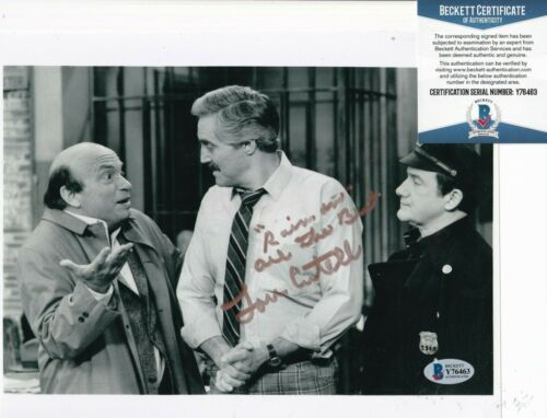 LOU CUTELL signed (GRAY'S ANATOMY) autographed 8X10 photo BECKETT BAS Y76463